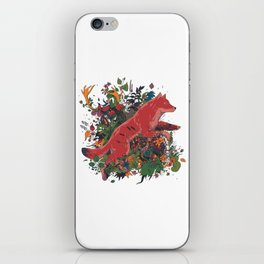 dream of red wolf iPhone Skin