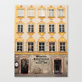 Mozart Residence  Canvas Print