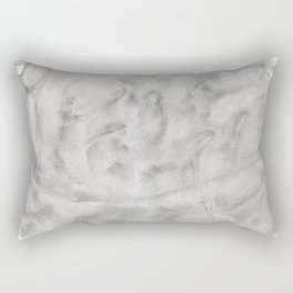 The Girl Who Was Never Buried Rectangular Pillow