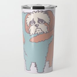 Shih Tzu Hugs Travel Mug