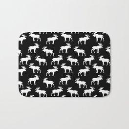 Moose Trot // Black Bath Mat