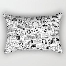 Columbus Ohio Map Rectangular Pillow
