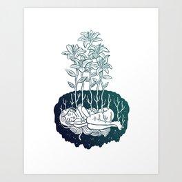 Hibernate Art Print