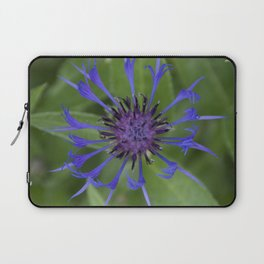 Thin blue flames in a sea of green Laptop Sleeve