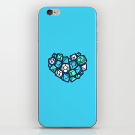 Heart of a Dungeon Master iPhone Skin