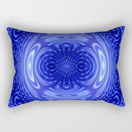 Flow Blue Rectangular Pillow
