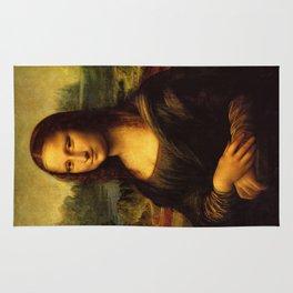 Monalisa, Leonardo Da Vinci, Mona Lisa, original Rug