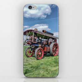"""Showmans Engine """"Lord Nelson"""" Desatuated iPhone Skin"""
