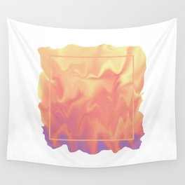 melting colors Wall Tapestry