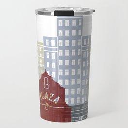 El Paso skyline poster Travel Mug