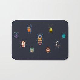 Beautiful bugs Bath Mat