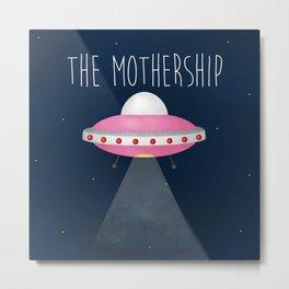 The Mothership Metal Print