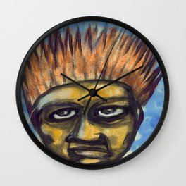 Surf's Up ~ Indonesia Art by Ali Wall Clock