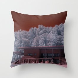 R72: Mars Station #E72 Throw Pillow