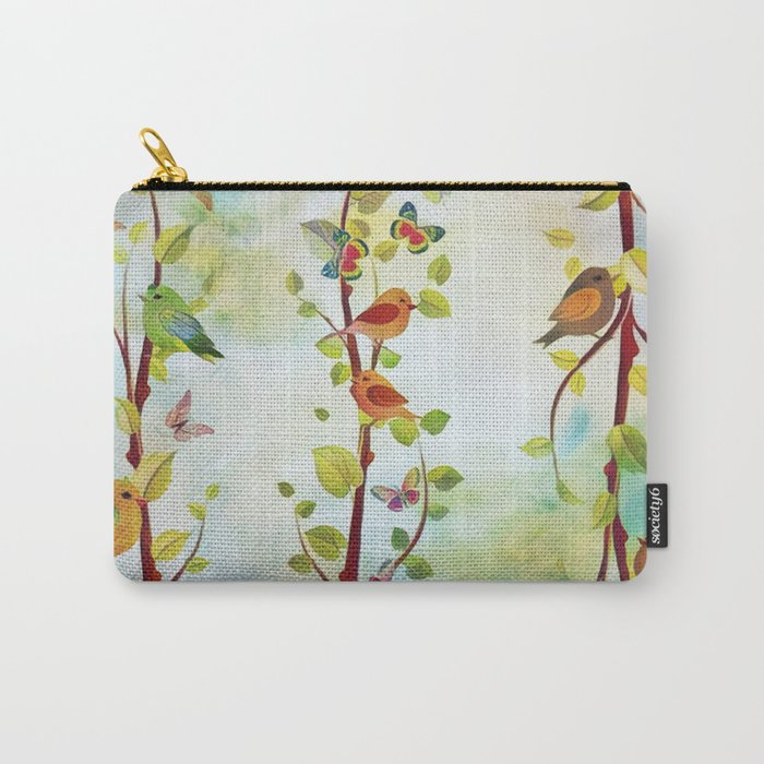Spring Arrivals Carry-All Pouch