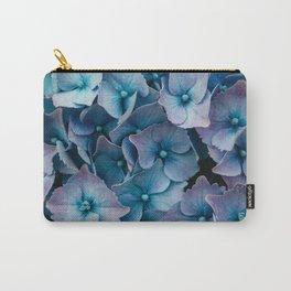Blue Summer Hydrangeas Carry-All Pouch