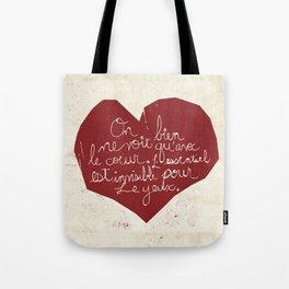 Le Cœur Tote Bag
