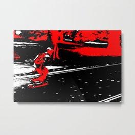 Street Skater Metal Print