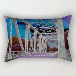 One Tree Hill- All you need is one. Rectangular Pillow