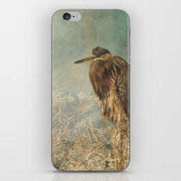 North Carolina Heron iPhone Skin