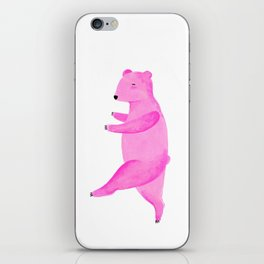 Dancing Bear №1 iPhone Skin