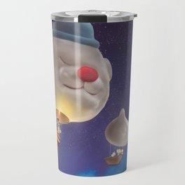 SmileDog Balloon Travel Mug