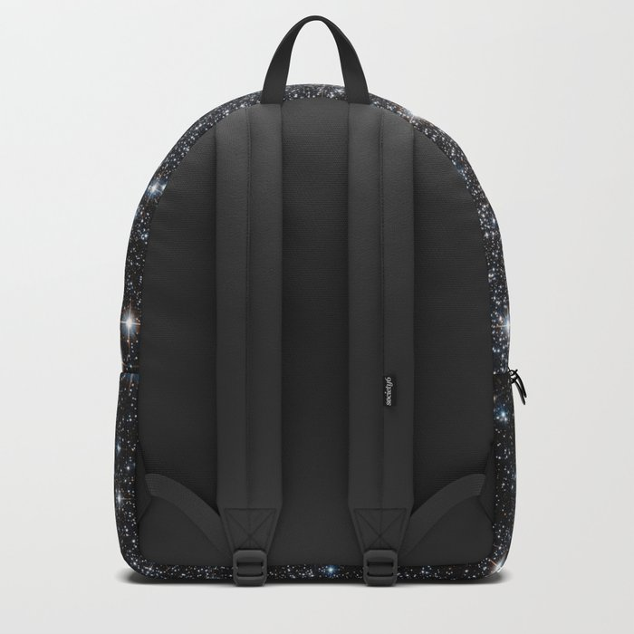 Stars : subtle black blue gold Backpack