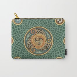 Celtic Knotwork Shield Carry-All Pouch