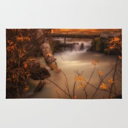 Hat Creek in Gold Rug