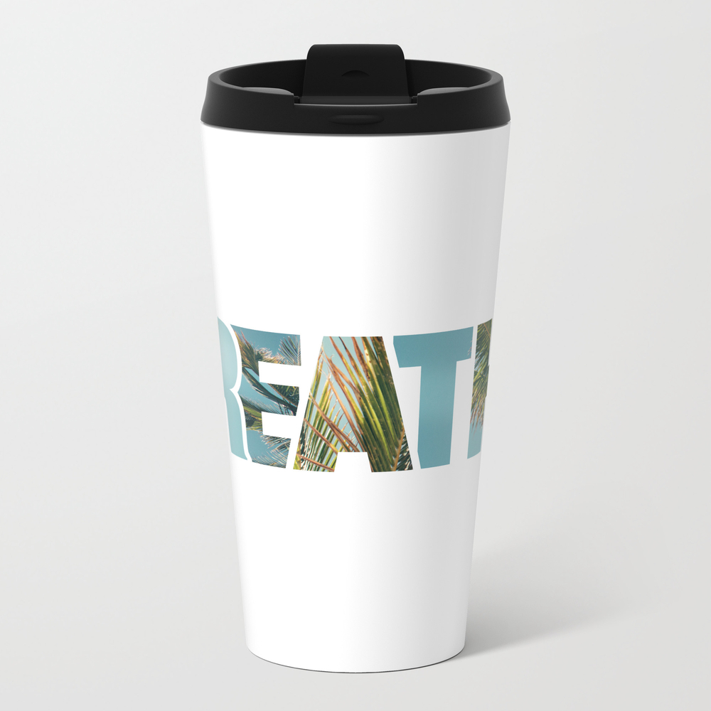 Breathe In, Breathe Out. Travel Mug TRM8932254