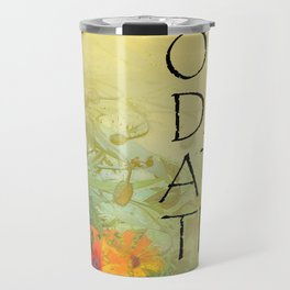 One Day at a Time (ODAT) Lilacs & Poppies Travel Mug