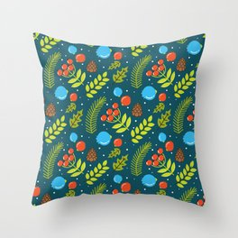 Christimas Pattern Throw Pillow