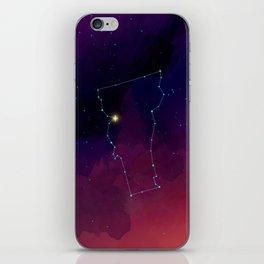 Vermont Constellation iPhone Skin