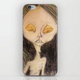 Lemon Eyed iPhone Skin