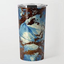 Sapphire & opal textures Travel Mug