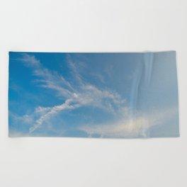 Hummingbird Cloud by Teresa Thompson Beach Towel