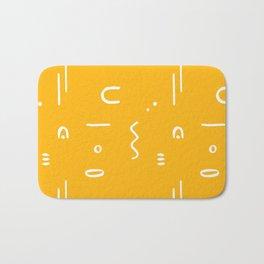 Peppy (sunshine yellow) Bath Mat