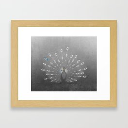 A splash of color Framed Art Print