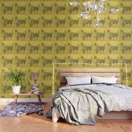 Yellow Palms Wallpaper