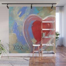 Jewel XOX Heart Wall Mural