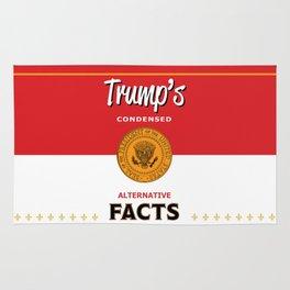 Trump's Alternative Facts Soup Rug