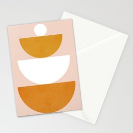 Abstraction_Balance_Minimalism_002 Stationery Cards
