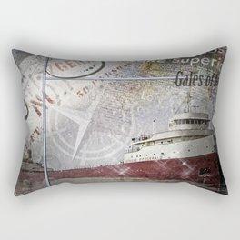 Edmund Fitzgerald Rectangular Pillow