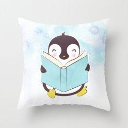 PENGUIN READS Throw Pillow