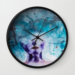 Head in Clouds Wall Clock