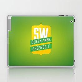 SW Queen Anne Greenbelt Laptop & iPad Skin