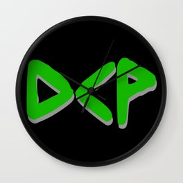 Green DCP Wall Clock