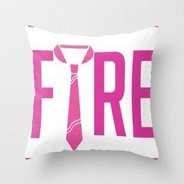 Chula Vista Fire Department Throw Pillow