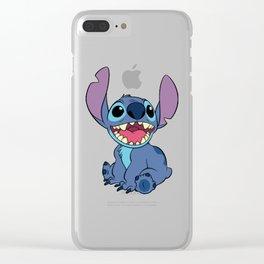 Lilo & Stitch , Stitch Clear iPhone Case