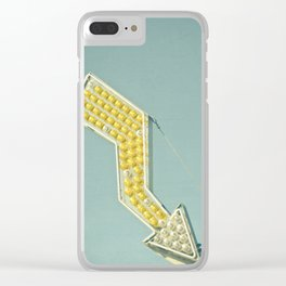Golden Arrow Clear iPhone Case